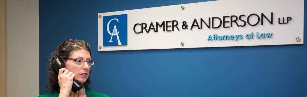 Cramer & Anderson law firm is open for business amid the COVID-19 coronavirus, just in a different way.