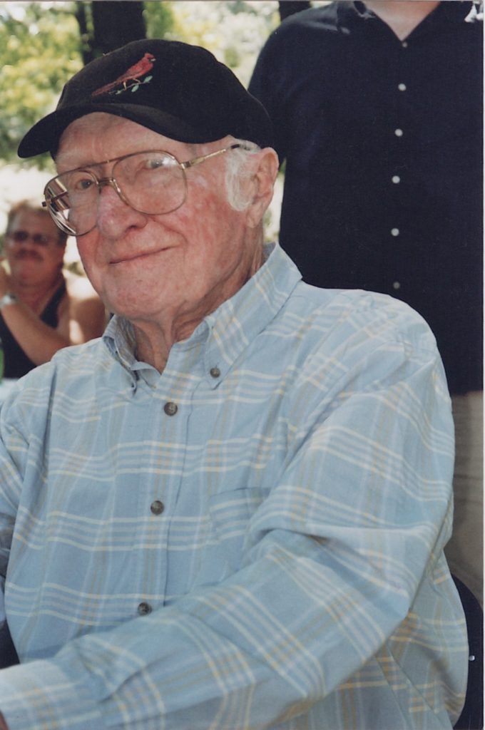 "Cramer & Anderson Founding Partner Henry B. ""Hank"" Anderson in 2009."