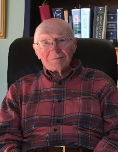 Cramer & Anderson Founding Partner Henry B. (Hank) Anderson at his home on Cape Cod in January 2018.