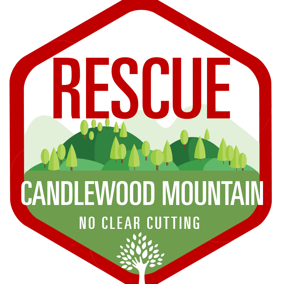 The logo of the New Milford Group Rescue Candlewood Mountain.