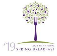 The RVNA Spring Breakfast logo.