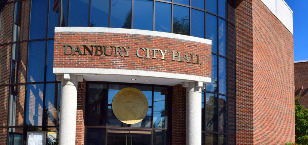 Danbury City Hall. Photo from the City's website.