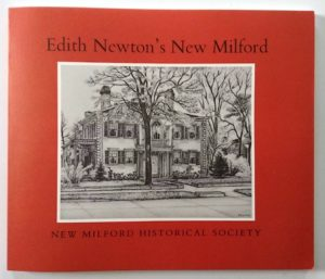 "Cramer & Anderson's flagship office in New Milford CT on the cover of ""Edith Newtown's New Milford"""