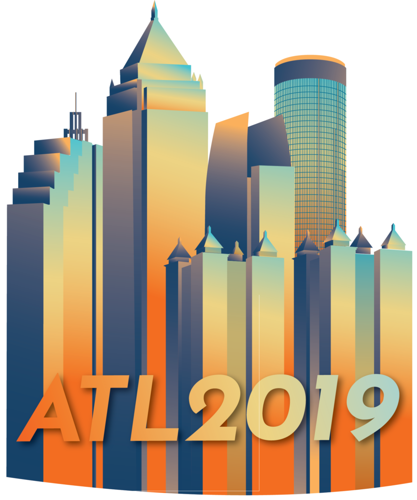 The logo for the 2019 conference of the International Municipal Lawyers Association.