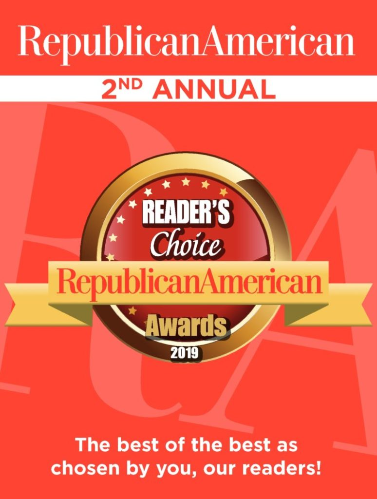 The cover of the Waterbury Republican newspaper's 2019 Reader's Choice awards.