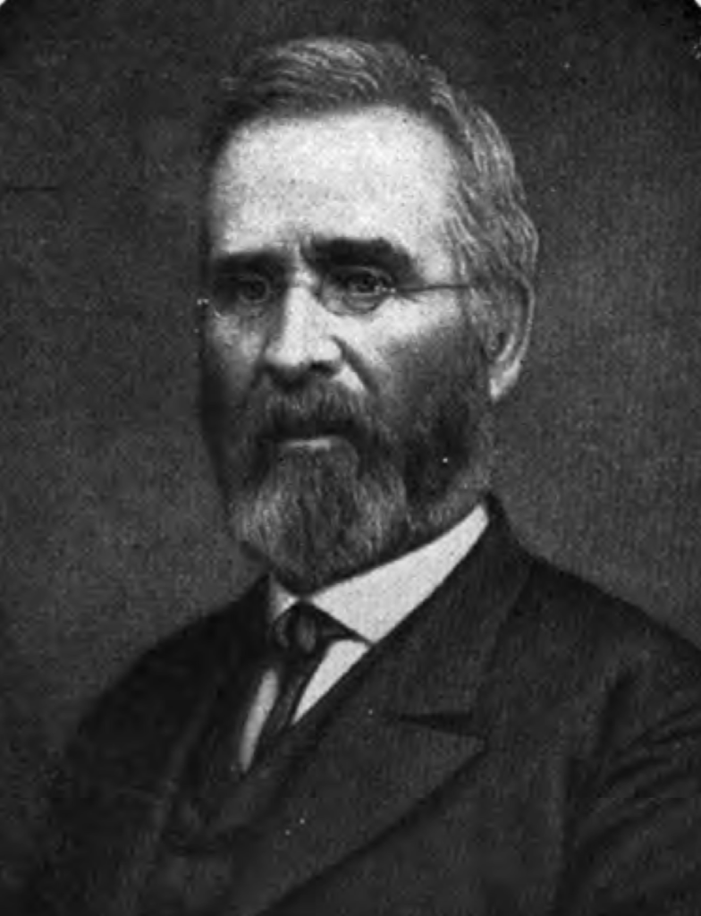 A portrait of John T. Hubbard, who created a law firm in the Civil War era that eventually became Cramer & Anderson, which has provided trusted legal counsel to generations of businesses and families.