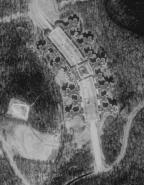 A 1991 aerial view of the former Union Carbide corporate headquarters in Danbury. (Source: U.S. Geologic Survey). Cramer & Anderson Partner Dan Casagrande won a major antitrust precedent victory in Connecticut Supreme Court in a case tied to the former Union Carbide headquarters, called the Reserver,