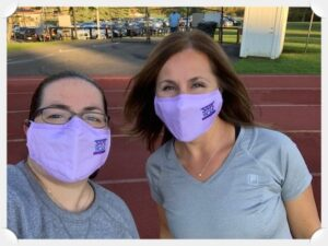 Partner Lisa Rivas and Legal Assistant Sonia Christie participate in the 2020 SafeWalk